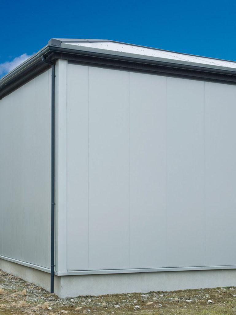 小型倉庫:外壁(ボルトレスB3)
